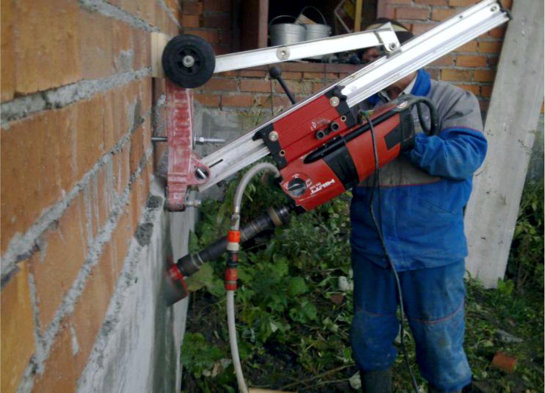 Сверление коронкой бетона производство заводы бетоны